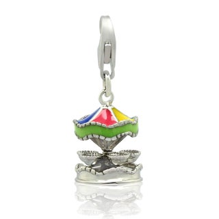 Gioelli Sterling Silver Carousel Charm