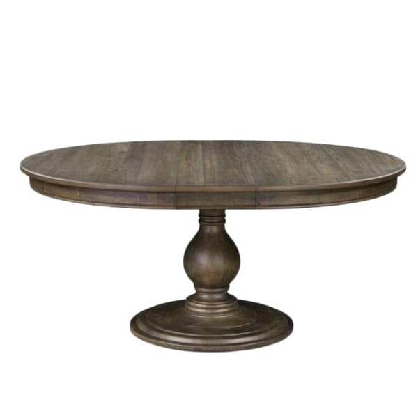 D2471 Karlin Wood Round Dining Table With Wood Top Overstock