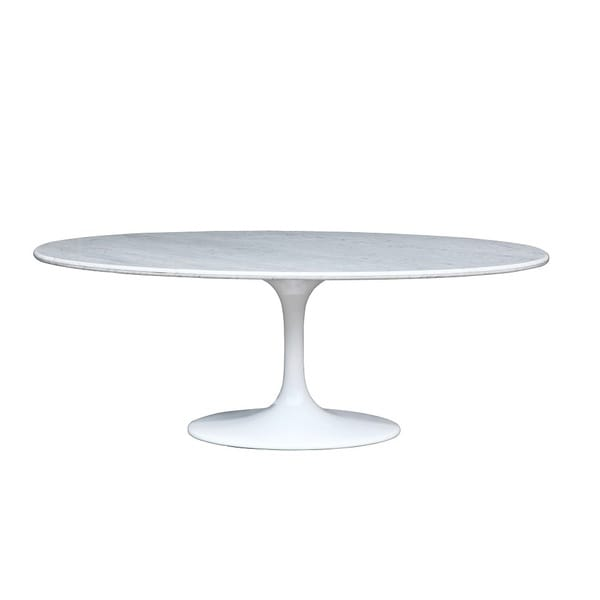 Large Oval Marble Table