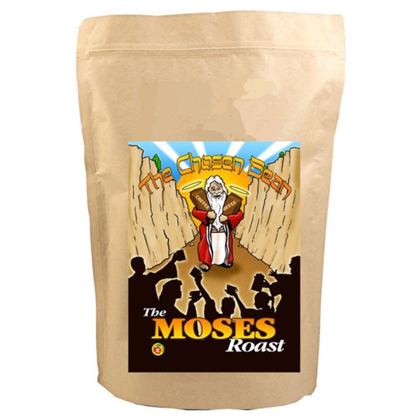 The Moses Roast Blend Micro Roasted 12-ounce Gourmet Whole Bean Coffee