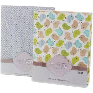 Nurture Nest Fitted Crib Sheet Bundle
