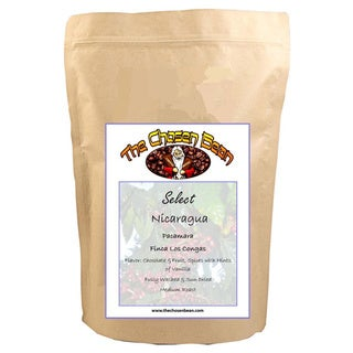 The Chosen Bean Select Nicaraguan Los Congas Pacamara Micro-roasted Gourmet Whole Bean Coffee