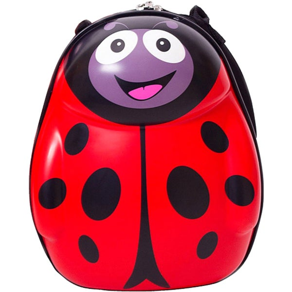 Cuties and Pals Polka Ladybird Kids Hardside Backpack