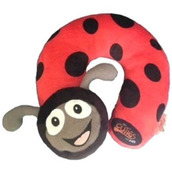 Cuties and Pals Polka Ladybird Kids Neck Pillow