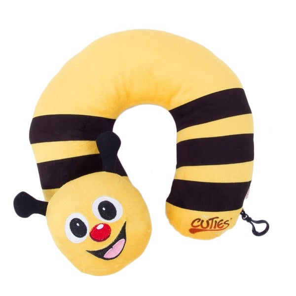 Cuties and Pals Cazbi Bee Kids Neck Pillow