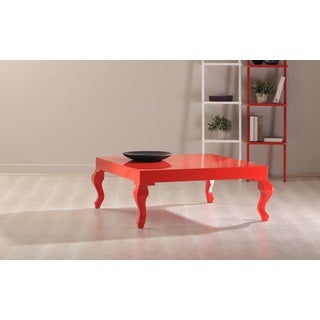 Sheela high gloss extendable coffee table 14752411 for Furniture of america inomata geometric high gloss coffee table