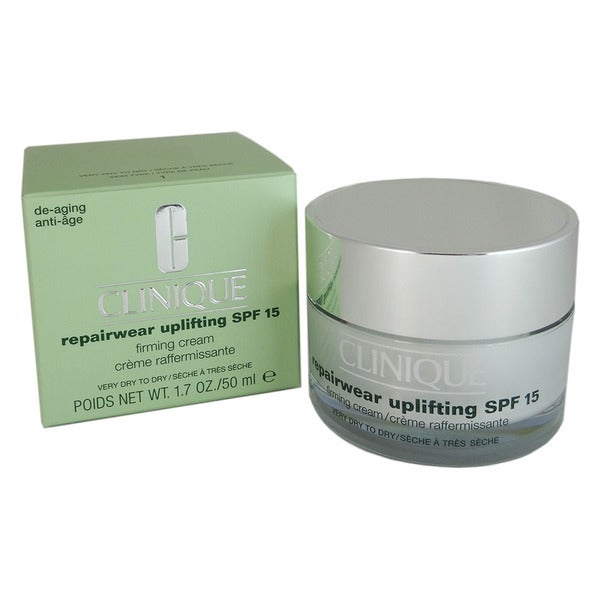Clinique Repairwear Uplifting SPF 15 1.7-ounce Very Dry To Dry Firming Skin Cream