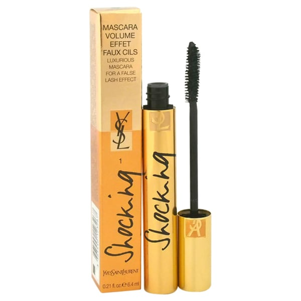 Yves Saint Laurent Volume Effet Faux Cils Shocking #1 Deep Black Luxurious Mascara
