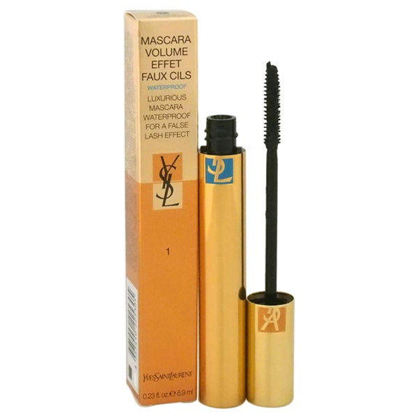 Yves Saint Laurent Volume Effet Faux Cils Waterproof Charcoal Black Luxurious Mascara
