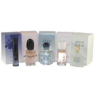Giorgio Armani Variety Women's 5-piece Mini Gift Set