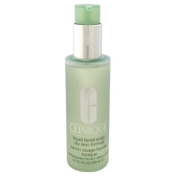 Clinique Oily Skin 6.7-ounce Liquid Facial Soap