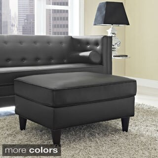 Modway Boost Bonded Leather Ottoman