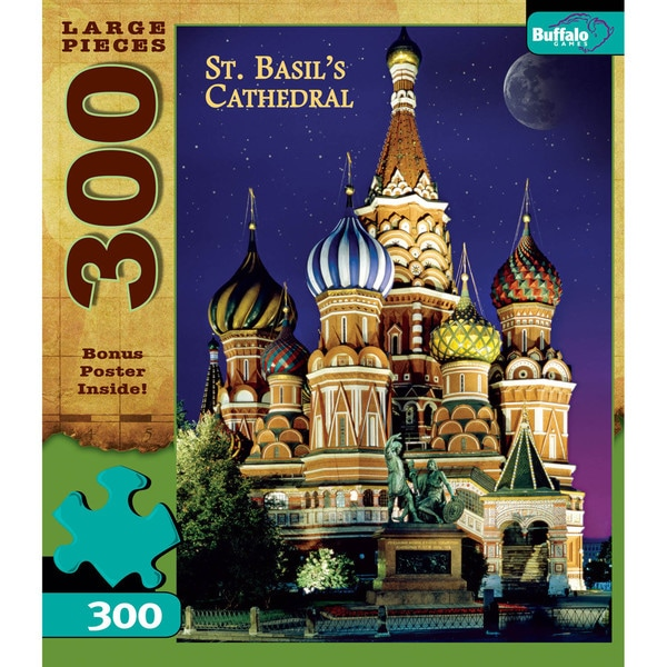 Moscow-St. Basil's Large 300-piece Puzzle