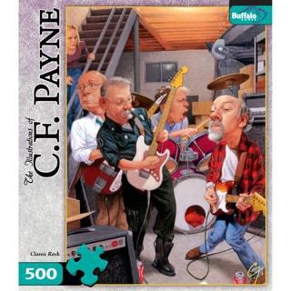 CF Payne Classic Rock 500-piece Puzzle