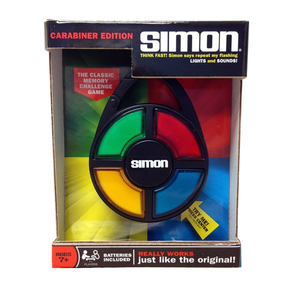 Simon Electronic Carabiner Game