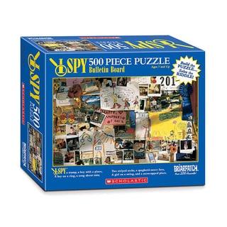 I Spy Bulletin Board 500-piece Puzzle