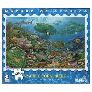 USPS Nature America Pacific Coast Rain Forest Stamp Collection 500-piece Puzzle