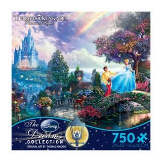 Thomas Kinkade Disney Dreams Cinderella Wishes Upon a Dream 750-piece Puzzle