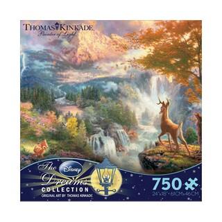 Thomas Kinkade Disney Dreams Bambi's First Year 750-piece Puzzle