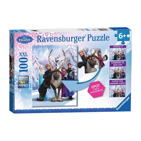 Disney The Frozen Difference 100-piece Puzzle 14445628