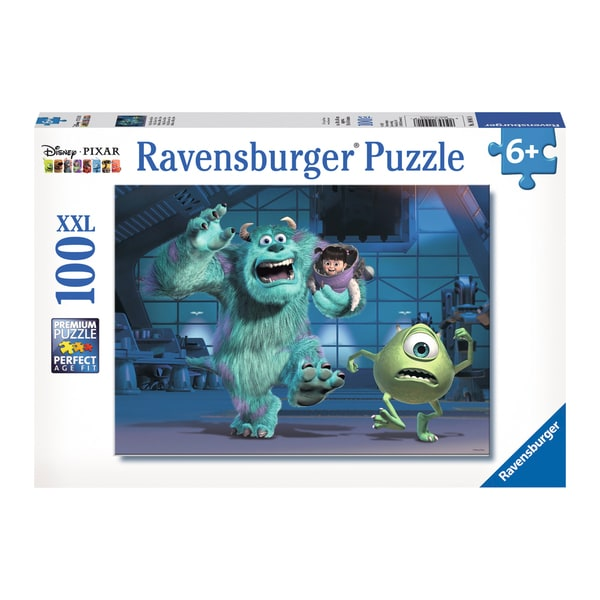 Disney Pixar Monsters Inc Sully Mike and Boo 100-piece Puzzle