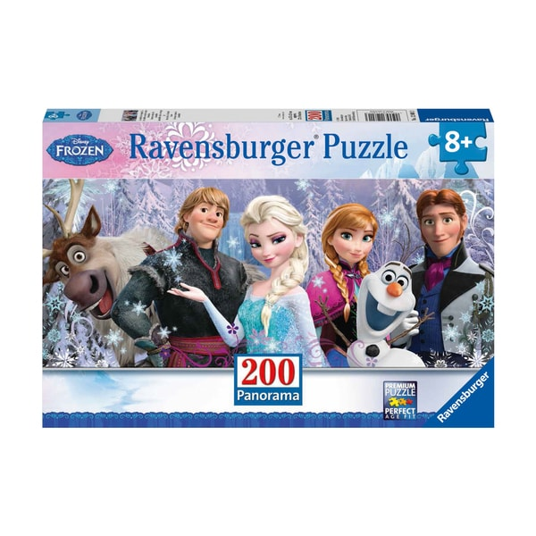 Disney Panoramic Frozen Friends 200-piece Puzzle