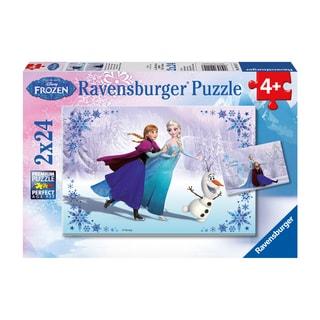 Disney Frozen Sisters Always 24-piece Puzzle (Pack of 2)