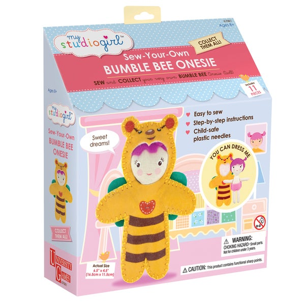 My Studio Girl Sew-Your-Own Bumble Bee Bodysuit