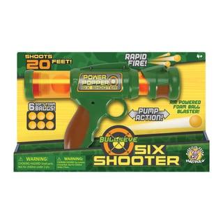 BullsEye Six Shooter Foam Ball Blaster