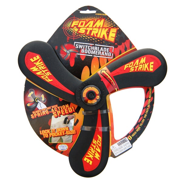 Foamstrike Switchblade Collapsible Foam Boomerang