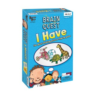 Brain Quest I Have Picture Flipping Game