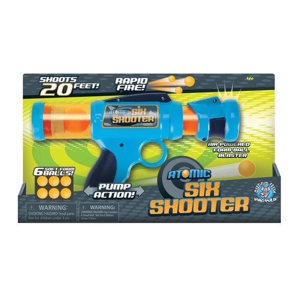 Atomic Six Shooter Foam Ball Blaster