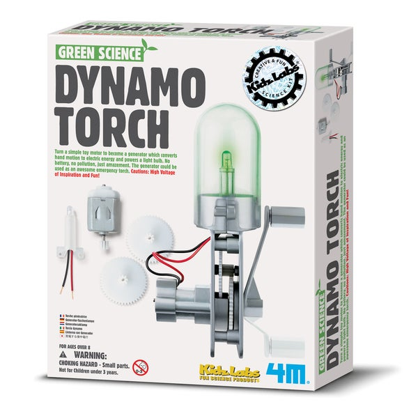 Green Science Dynamo Torch Generator Kit