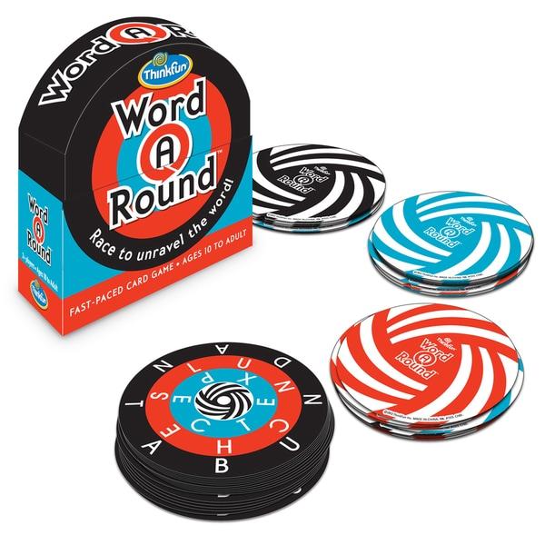 Thinkfun WordARound Card Game 14445689