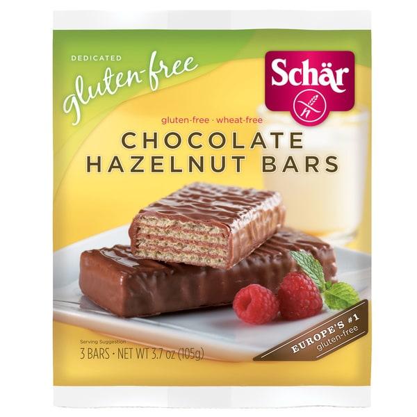 Schar Gluten-free Chocolate Hazelnut Bars (Case of 6)
