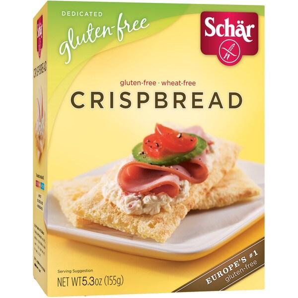 Schar Gluten-free Crispbread (Case of 6)