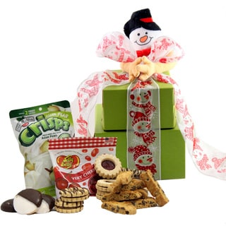 Winter Wonderland Gluten-free Cookie Gift Tower