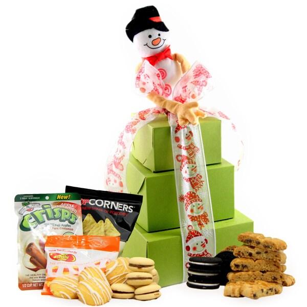 Winter Wonderland Gluten-free Cookie Large Gift Tower