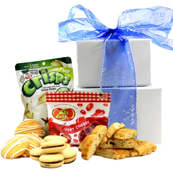 Seasons Greetings Gluten-free Treat Gift Tower