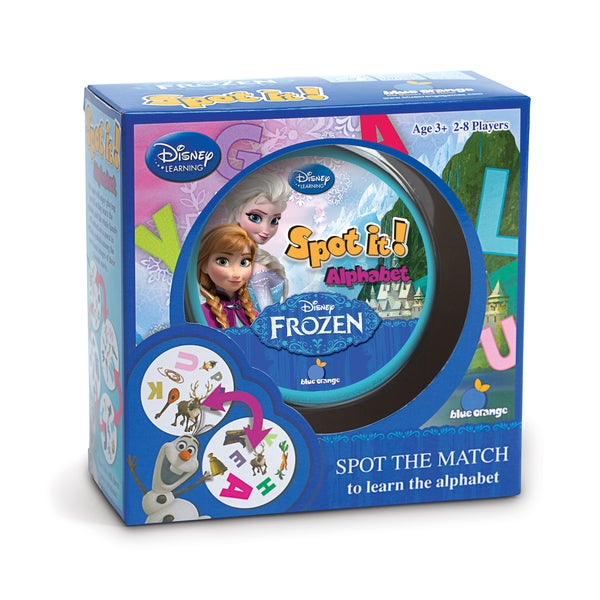 Spot it Alphabet Disney Frozen Game