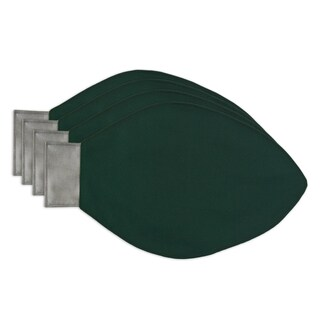 Solid Green Light Bulb Placemats (Set of 4)