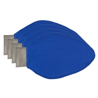 Royal Blue Light Bulb Placemats (Set of 4)
