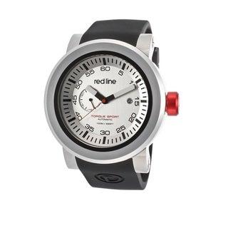 Red Line Men's RL-50046-02BK-BKST Torque Sport Silvertone Watch