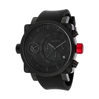 Red Line Men's RL-50048-BB-01-BK Dual Timer Black Watch
