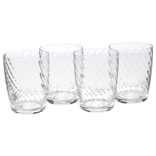 Luigi Bormioli Hypnos 13.5-ounce Crystal Tumblers (Set of 4)