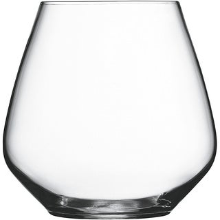 Luigi Bormioli Atelier Pinot Noir Stemless Crystal Wine Glasses (Set of 6)
