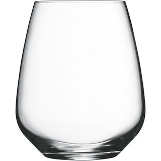 Luigi Bormioli Atelier Crystal 23.25-ounce Stemless Cabernet Wine Glasses (Set of 6)