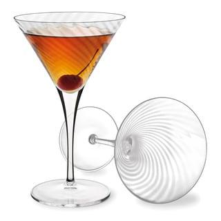 Luigi Bormioli Hypnos 8.75-ounce Crystal Martini Glasses (Set of 4)