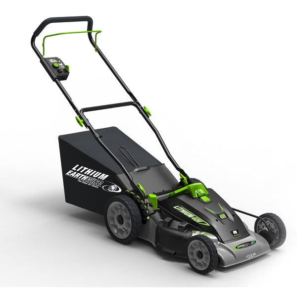 Earthwise Cordless 40 Volt Lithium Ion 18 Inch Lawn Mower