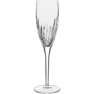 Luigi Bormioli Incanto Crystal 6.75-ounce Flutes (Set of 4)